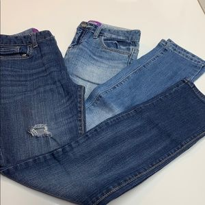 2 pair Old Navy Skinny Jeans size 14